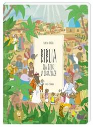 okładka Biblia dla dzieci w obrazkach, Książka   Elżbieta Kidacka