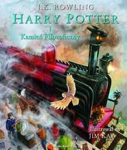 okładka Harry Potter i kamień filozoficzny. Ilustrowany, Książka | Joanne K. Rowling