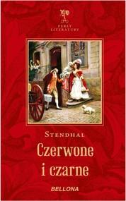 okładka Czerwone i czarne, Książka | Stendhal