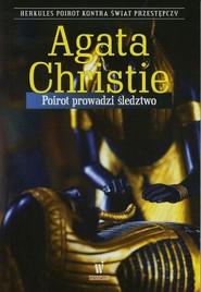 okładka Poirot prowadzi śledztwo, Książka   Agatha Christie