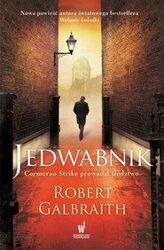 okładka Jedwabnik, Książka | Robert Galbraith