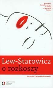 okładka Lew-Starowicz o rozkoszy, Książka | Zbigniew Lew-Starowicz