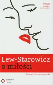 okładka Lew-Starowicz o miłości rozmawia Krystyna Romanowska, Książka | Zbigniew Lew-Starowicz