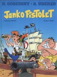 okładka Janko Pistolet, Książka | René Goscinny, Albert Uderzo