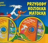 okładka Przygody Koziołka Matołka z płytą CD, Książka | Kornel Makuszyński
