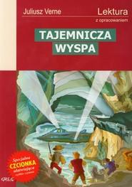 okładka Tajemnicza wyspa Lektura z opracowaniem, Książka | Juliusz Verne
