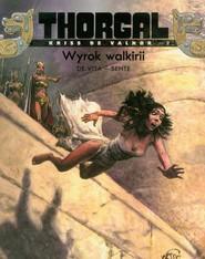 okładka Thorgal Kriss de Valnor Wyrok walkirii Tom 2, Książka | Yves Sente, Vita Giulio De