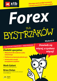 okładka Forex dla bystrzaków, Książka   Mark Galant, Brian Dolan