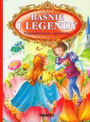 okładka Baśnie i legendy Najpiękniejsze opowieści, Książka | Hans Christian Andersen, Carl Collodi, Rudyard Kipling