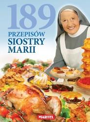 okładka 189 Przepisów Siostry Marii, Książka |