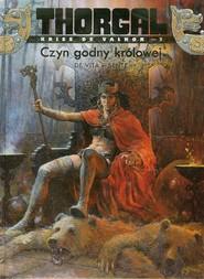 okładka Thorgal Kriss de Valnor Czyn godny królowej Tom 3, Książka | Yves Sente