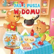 okładka Jaś i Pusia W domu, Książka | Agnieszka Nożyńska-Demianiuk