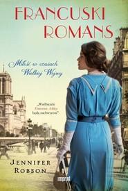 okładka Francuski romans, Książka | Jennifer  Robson