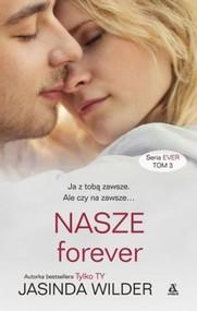 okładka NASZE forever, Książka | Jasinda Wilder