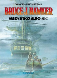 okładka Bruce J. Hawker  5  Wszystko albo nic, Książka   Vance W.