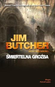 okładka Śmiertelna groźba, Książka | Butcher Jim