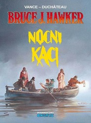 okładka Bruce J. Hawker 6 Nocni kaci, Książka   Vance Duchateau, Duchateau Vance,