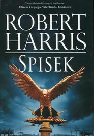okładka Trylogia rzymska Tom 2 Spisek, Książka | Robert Harris