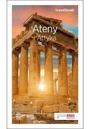 okładka Ateny i Attyka Travelbook, Książka | Zawistowska Agnieszka