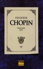 okładka Fryderyk Chopin, Książka | Liszt Franciszek