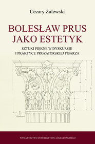 okładka Bolesław Prus jako estetyk, Ebook | Cezary Zalewski
