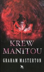 okładka Krew Manitou, Książka | Graham Masterton