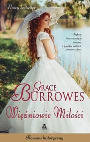 okładka Więźniowie miłości, Książka   Grace Burrowes