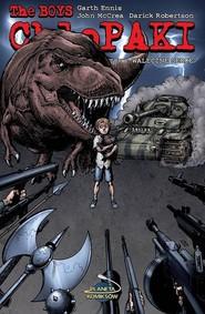 okładka Chłopaki 8 Waleczne serce, Książka | Garth Ennis