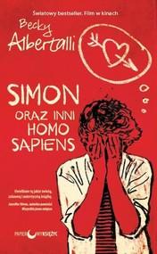 okładka Simon oraz inni homo sapiens, Książka   Albertalli Becky