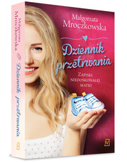 okładka Dziennik przetrwania. Zapiski niedoskonałej matki, Książka | Małgorzata Mroczkowska