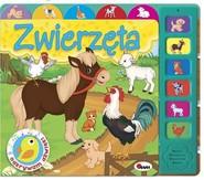 okładka Odkrywam dźwięki Zwierzęta, Książka | Kwiecińska Mirosława