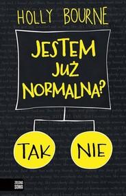 okładka Jestem już normalna?, Książka | Bourne Holly