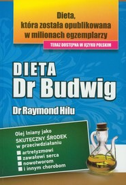 okładka Dieta Dr Budwig, Książka | Hilu Raymond