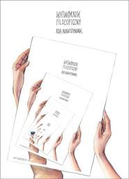 okładka Wytwórnik filozoficzny, Książka | Augustyniak Ada