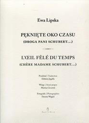 okładka Pęknięte oko czasu, Książka   Ewa Lipska