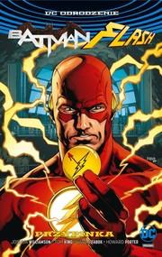 okładka Batman Flash Przypinka okładka z Batmanem, Książka | Joshua Williamson, Tom King