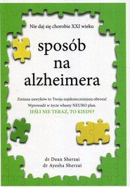 okładka Sposób na alzheimera, Książka | Dean Sherzai, Ayesha Sherzai
