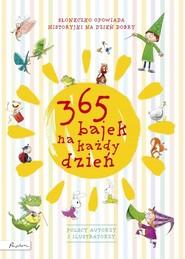okładka 365 bajek na każdy dzień Słoneczko opowiada... historyjki na dzień dobry, Książka |