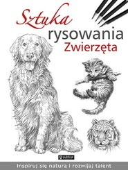 okładka Sztuka rysowania Zwierzęta, Książka |