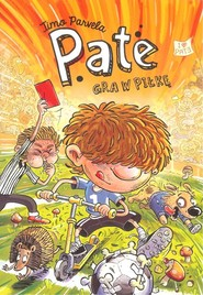 okładka Pate gra w piłkę, Książka   Parvela Timo