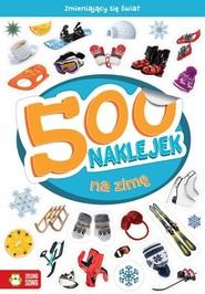 okładka 500 naklejek na zimę, Książka | Supeł Barbara