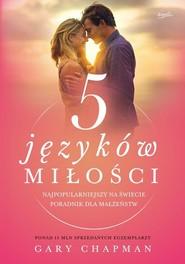okładka 5 języków miłości Tajemnica miłości na całe życie, Książka | Gary Chapman