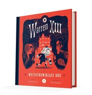 okładka Warren XIII i Wszystkowidzące oko, Książka   Rio Tania del