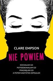 okładka Nie powiem, Książka | Empson Clare