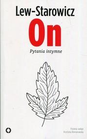 okładka On Pytania intymne, Książka | Zbigniew Lew-Starowicz