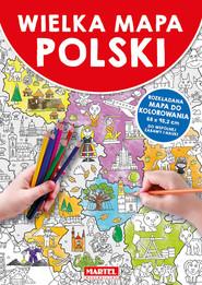 okładka Wielka mapa Polski, Książka |