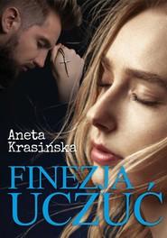 okładka Finezja uczuć, Książka | Aneta Krasińska