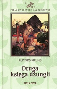 okładka Druga księga dżungli, Książka | Rudyard Kipling