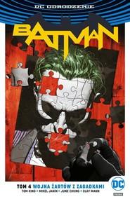 okładka Batman Tom 4 Wojna Żartów z Zagadkami, Książka | Tom King