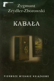 okładka Kabała, Książka | Zygmunt Zeydler-Zborowski